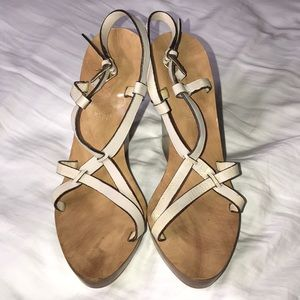 Bally Shoes - Bally Switzerland wedge sandals size 37 - US 7